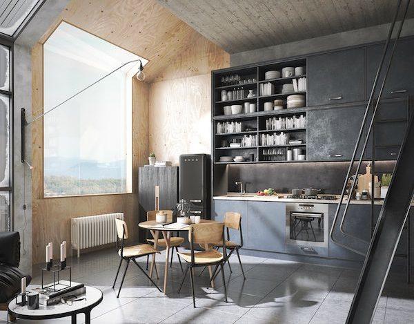 vosgesparis: A masculine 3d loft designed by Tharik Mohammed