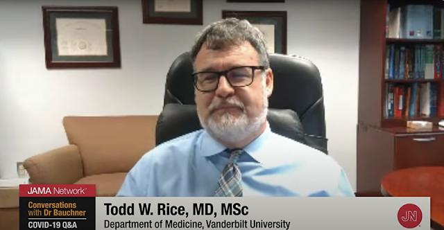 Dr. Todd Rice de la Universidad de Vanderbilt