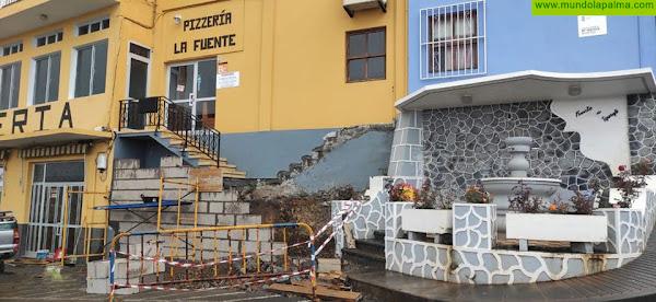 Tijarafe mejora la accesibilidad en la Calle Alcaldesa María Nieves