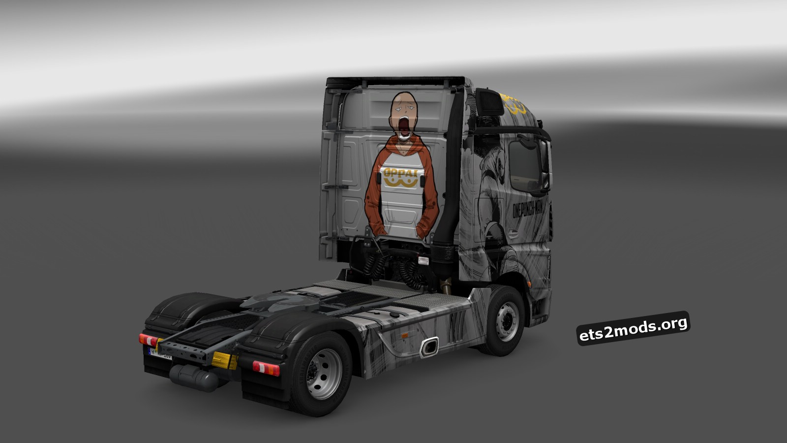 One Punch Man Skin Mercedes MP4