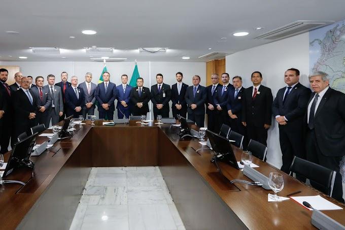 Secretários estaduais de Segurança pedem ministério exclusivo a Bolsonaro