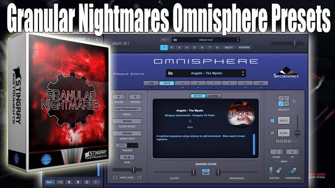 Stingray Instruments - Granular Nightmares Omnisphere Presets