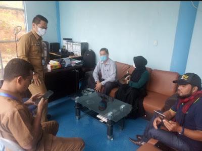 Kunjungi Kantor Kominfo Gayo Lues Pimpinan Perusahan Trisha Jaya Menyaksikan Kemajuan Multi Media