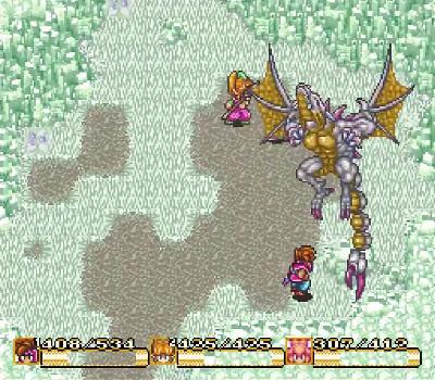 Secret of Mana - Snow Dragon