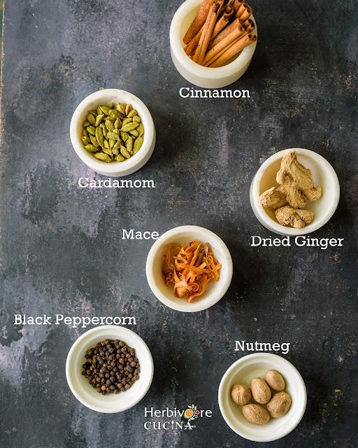 Six Ingredients to make Indian Chai Masala