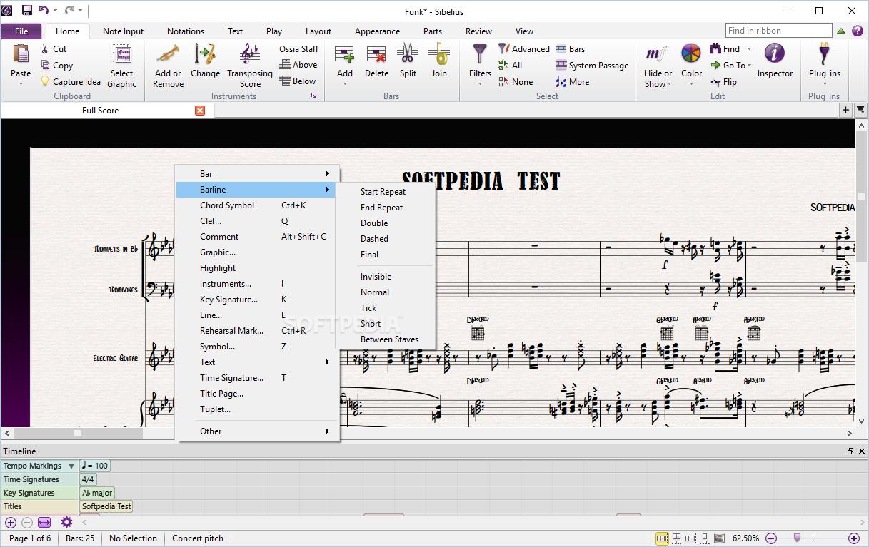 تحميل أفضل برنامج لتدوين الموسيقى Avid Sibelius Ultimate 2019.5