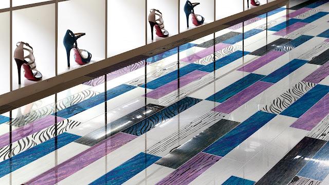 Comfort room tiles design ideas of Folli Follie series