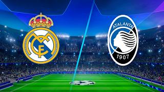 مشاهدة مباراة ريال مدريد ضد اتالانتا 16-3-2021 بث مباشر في دوري أبطال أوروبا