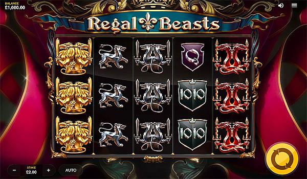 Main Gratis Slot Indonesia - Regal Beasts Red Tiger Gaming