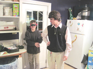 Grace Youth learn to be sighted guides