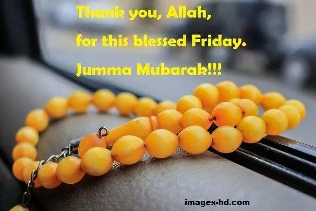 Thank you Allah jumma Mubarak image