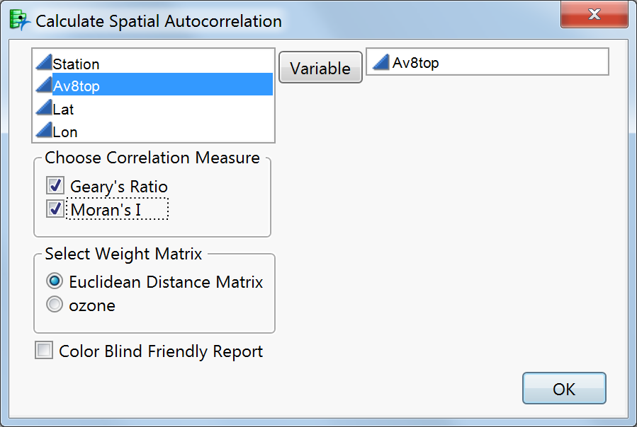 StatconExploring Spatial Autocorrelation