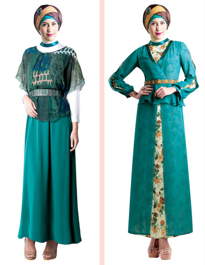 Contoh Fashion Busana Muslim Modern Terbaru 2015