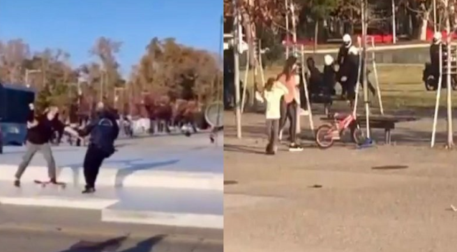 Η Γελοιοποίηση ΕΛ.ΑΣ. συνεχίζεται - Αστυνομικοί Στη Θεσσαλονίκη Κυνηγούν Νεαρούς Που Κάνουν Σκέιτ – ΒΙΝΤΕΟ