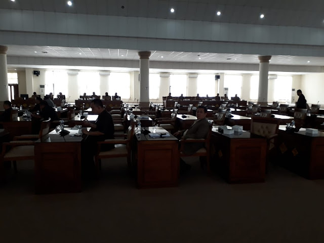 Rapat Paripurna DPRD OI Kembali Terancam  Tidak Qorum