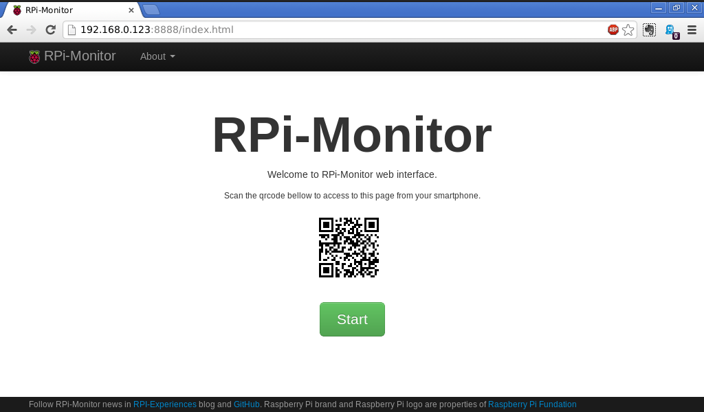 RPi-Experiences: RPi-Monitor: Raspberry Pi self monitoring