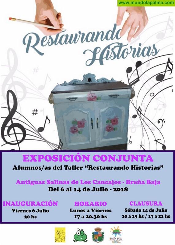 """LA LONGUERA: exposición del taller """"Restaurando Historias"""""""