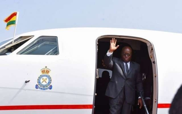 President Akufo-Addo Leaves For UK-Africa Summit In London