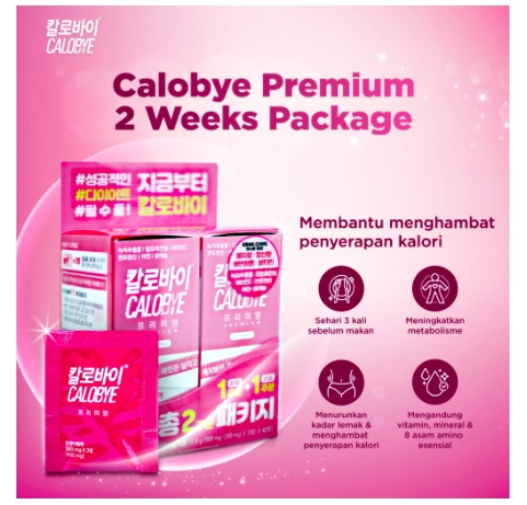 Calobye premium succes diet plan