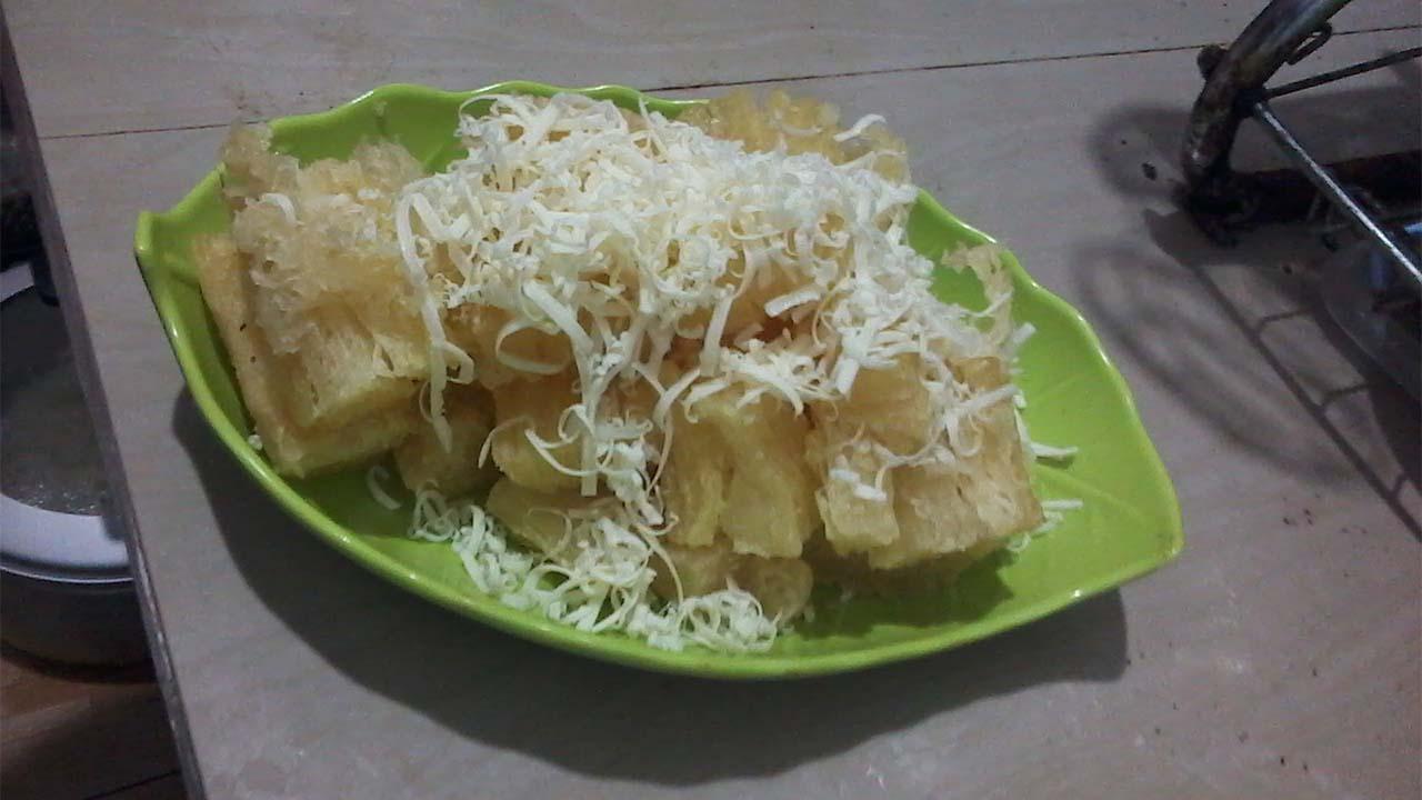 Singkong Crispy Toping Keju Super Nikmat