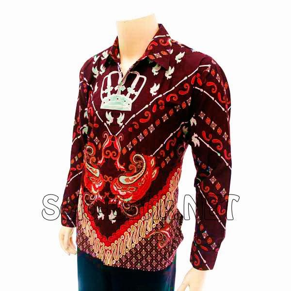 Baju Batik Kerja Lampung