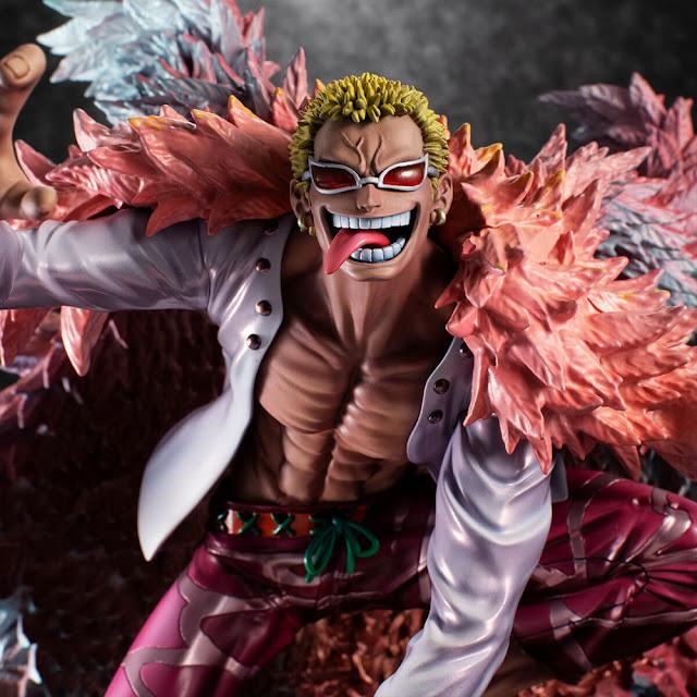 One Piece – Portrait.Of.Pirates Heavenly Yaksha Donquixote Doflamingo, Megahouse