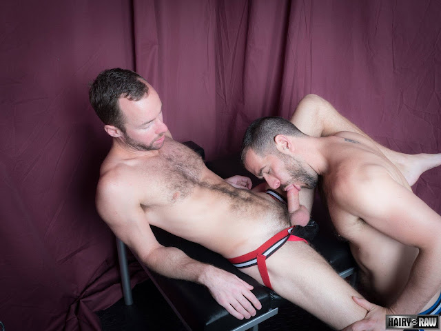 Hairy and Raw - Eric Hassan and Alex Hawk