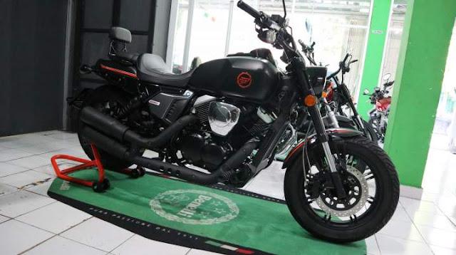 Keeway V250Fi Indonesia Standar Black