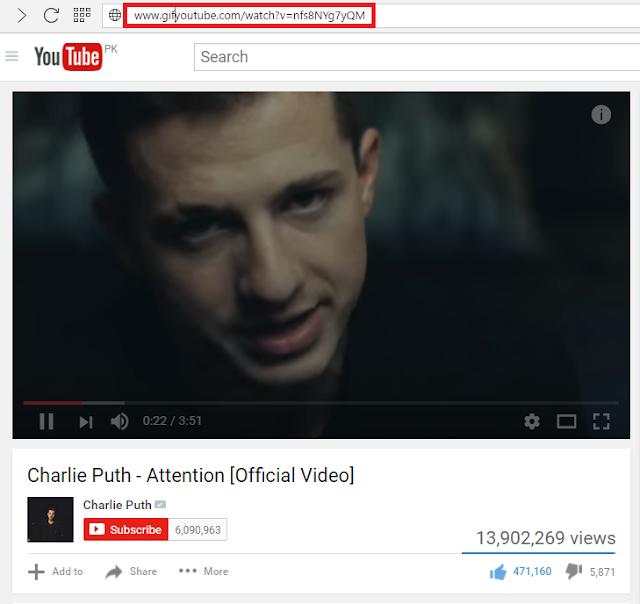 Convert youtube video into gif