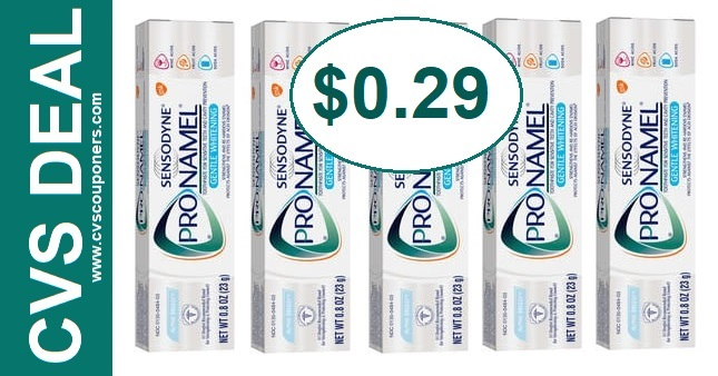 CVS Deal Sensodyne Pronamel 8-18 8-24