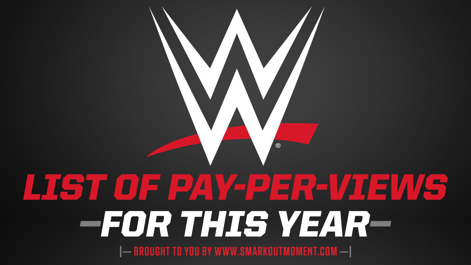 list of pay-per-view WWE ppv event shows in 2021 World Wrestling Entertainment