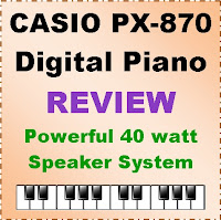 Casio PX-870 digital piano / 2020