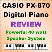 Casio PX-870 digital piano / 2021