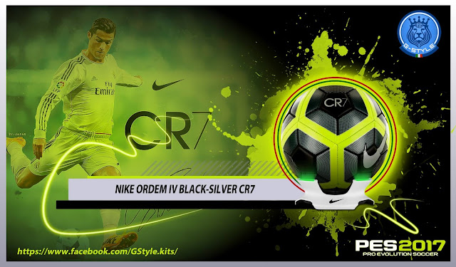 PES 2017 nike ordem CR7 Ball by G-Style