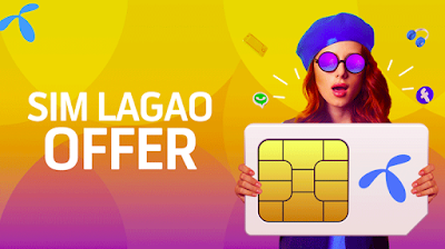 New 2020 Telenor Sim Lagao Offer Free Onnet 3000 Internet 10,000 MB (from 12 am to 7 pm)