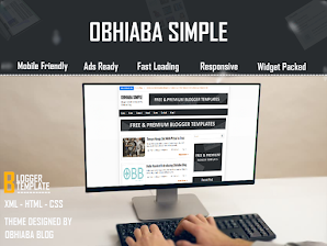 Obhiaba Simple Blogger Template