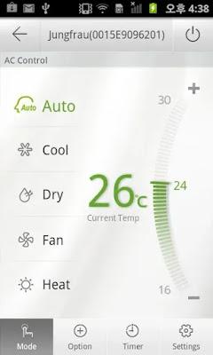 Screenshot Samsung Smart Air Conditioner - Apcoid