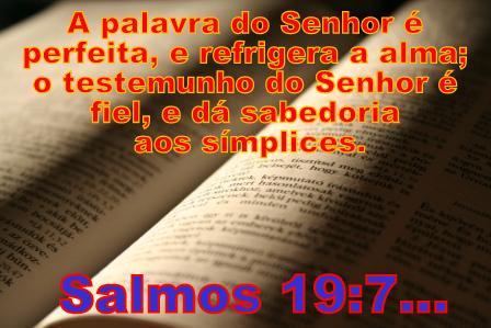 Resultado de imagem para salmos 19 7