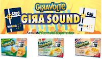 Logo #Girasound Giravolte: vinci 82 voucher TicketOne da 30€