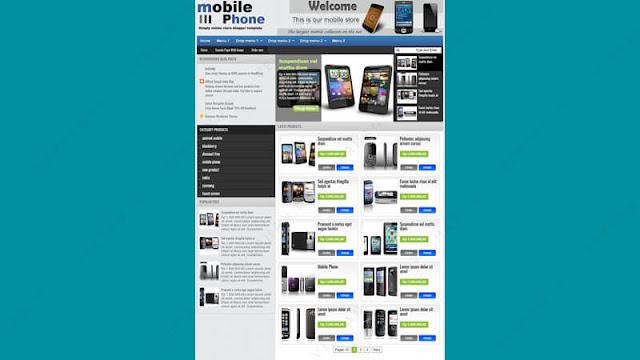 johny joss template blogger template