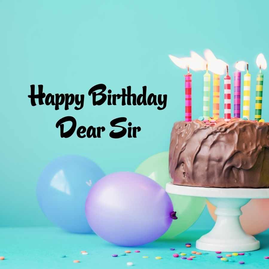 happy birthday sir images