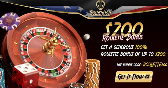 Golden Lion Casino Roulette Bonus