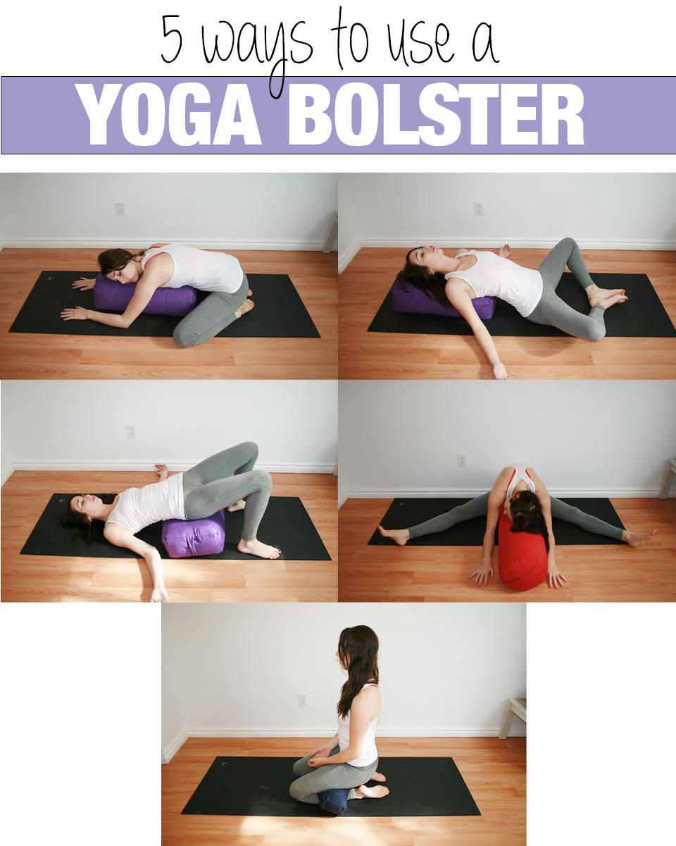 Five Ways To Use A Yoga Bolster Yoga With Kassandra Blog