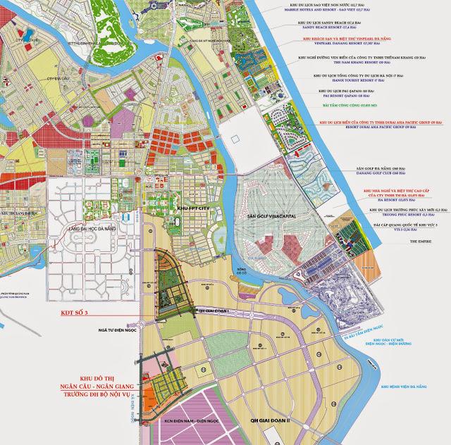 vị trí khu đô thị làng đại học