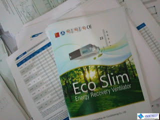 Catalogue - Eco Slim Energy Recovery Ventilator