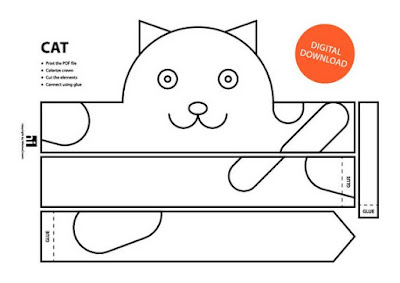 descarga gratis corona máscara de gato