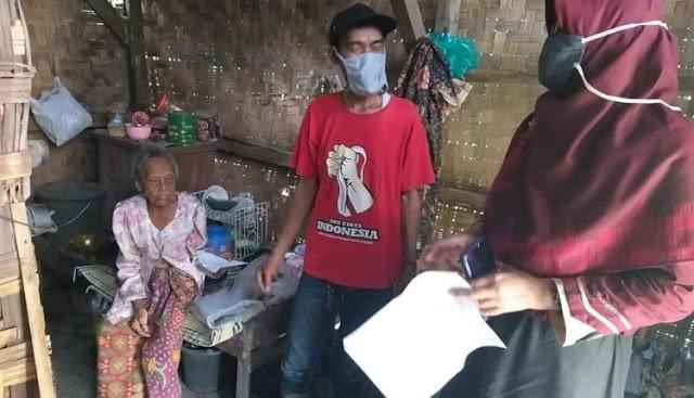 Anggota Dewan PKS Kunjungi Rumah Warga Di Cilegon Yang Sudah Rapuh