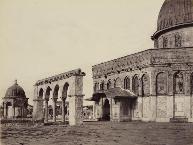 Cúpula de la Roca, 1862 Francis Bedford
