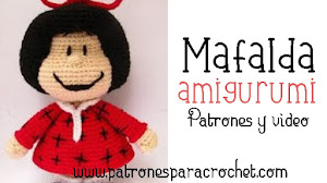 Mafalda Amigurumi | Patrón y video