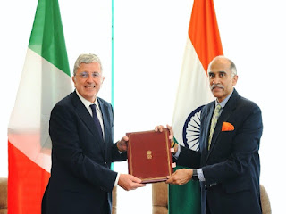 Italy signed Framework Agreement of the ISA